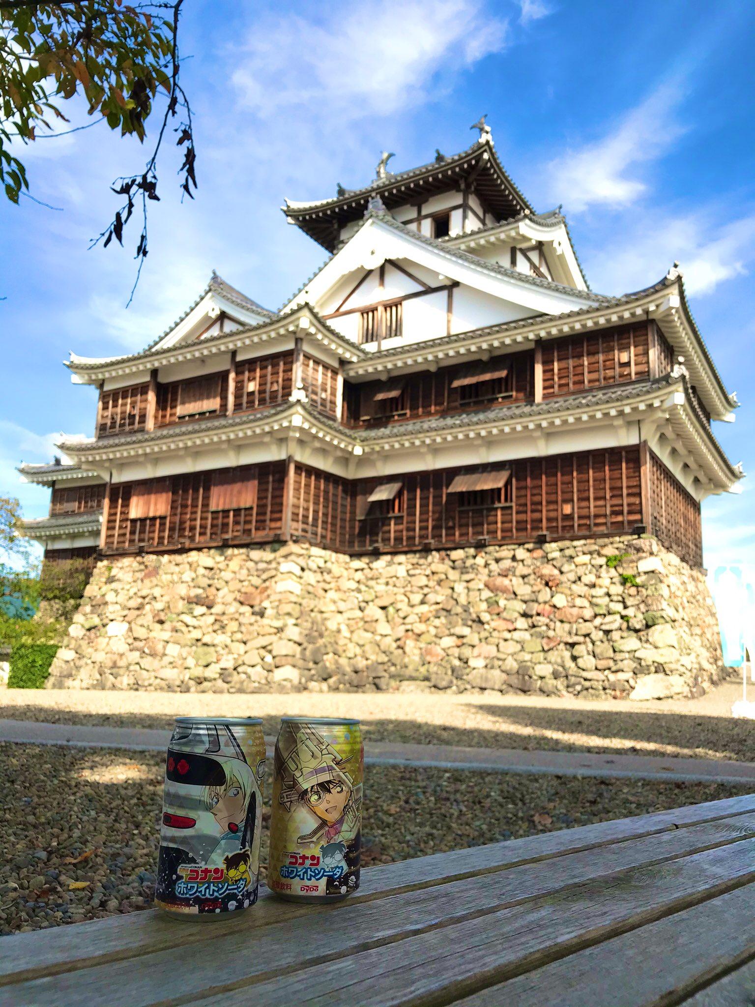 福知山城にある喋る 光秀自販機 で コナン のジュースを買ったら 怪盗キッドと 安室透が出た 届けはるか彼方へ 2019 11 10 福知山シネマ