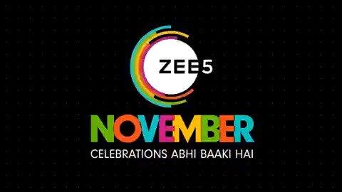 Celebrations abhi baaki hai! Thoda drama, thoda action, thoda suspense, thoda romance... lekin dher saara entertainment! It's gonna be #ExtendedCelebrations ka dhamaka with #ZEE5 November Lineup.