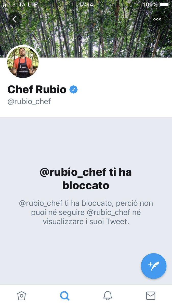 #ChefRubio cacciato da #DiscoveryChannel  ora ricomincia a cucina invece di rompere le palle a tutti