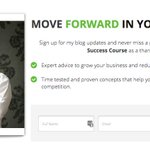 Image for the Tweet beginning: MOVE FORWARD IN YOUR BUSINESS Sign