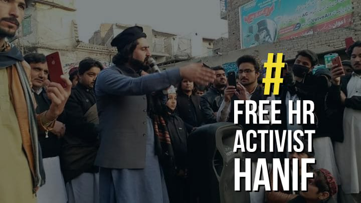 The only crime of Hanif Pashteen was that he tried to make Pashtuns aware of their rights which are violated severely by Pakistani army. #FreeHRActivistHanif @manzoorpashteen #FreeHRActivistHanif <br>http://pic.twitter.com/hEZauC0v8S