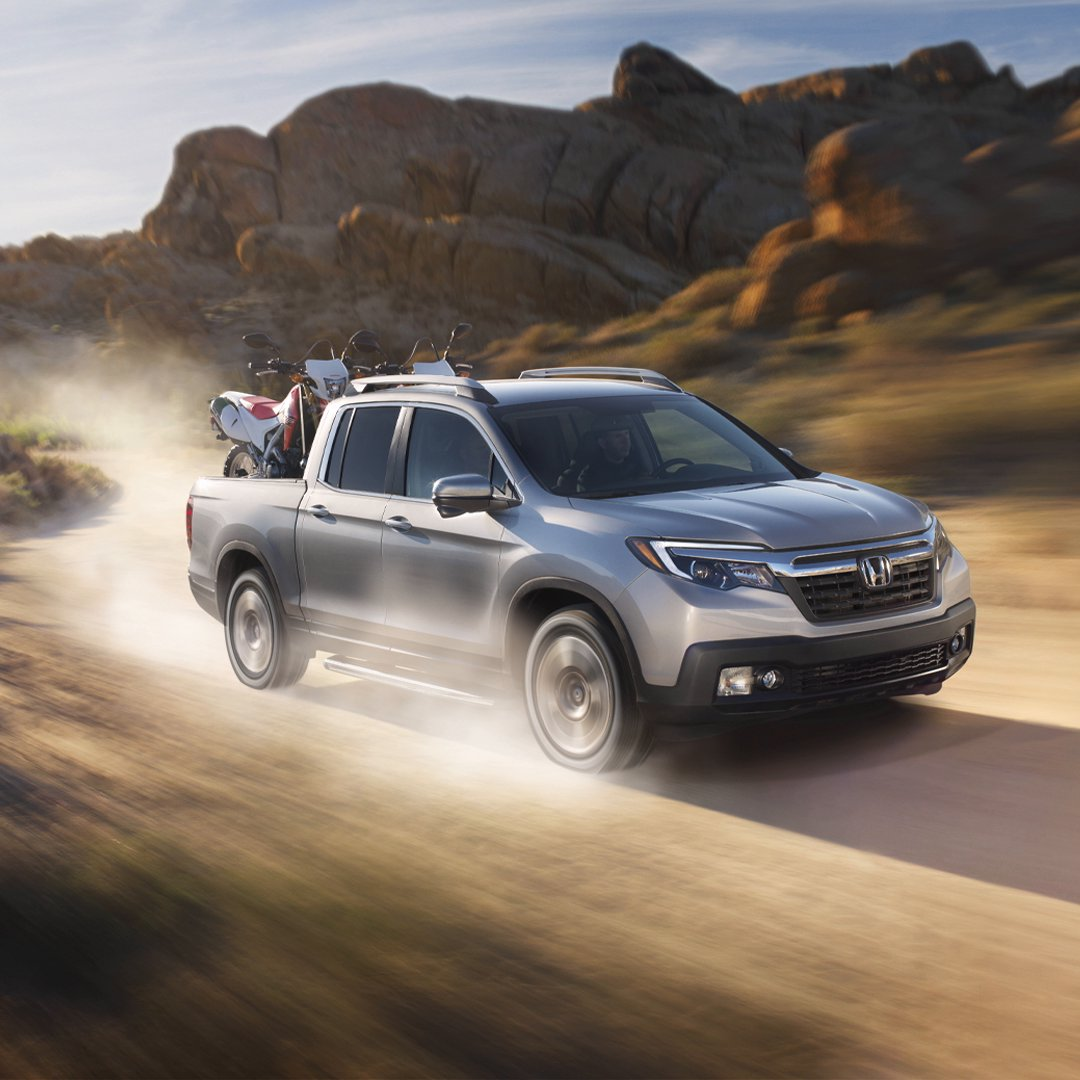 Rugged and refined, the Ridgeline combines both worlds into one highly capable package.