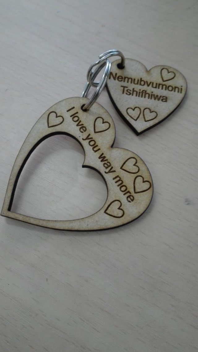 For all your personalized wood Keyrings. Notebooks , wooden spoons and chopping boards  Text me (0791370012) or DM  Pricelist in the comment section PLZ RT #IdolsSA  #OurPerfectWedding  #ifalakhe  #GugOthandayo  #Umjolowithazola  #BLACKCOFFEE  #GirlsTalkZA