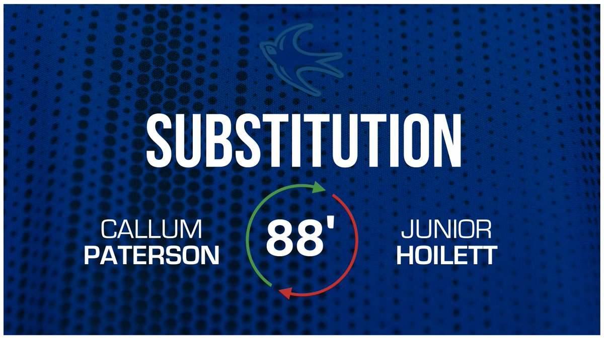 88 - Final #CardiffCity change: @Callump7 replaces @jnrhoilett. (0-1) #CityAsOne