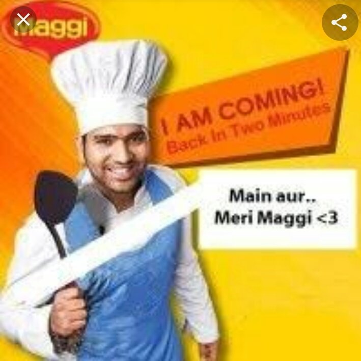 Dear @virendersehwag #Maggiman is back😂😂😂 on 2(6)Shitman @ImRo45 again showing his inconsistency. This is the perfect example of why anyone can't be compare with Virat Kohli. 😂😂😂😂@BCCI @ICC #INDvsBAN #maggiman #RohitSharma 😂😂😂😂#VirenderSehwag