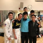 Image for the Tweet beginning: Congratulations to our fencers on