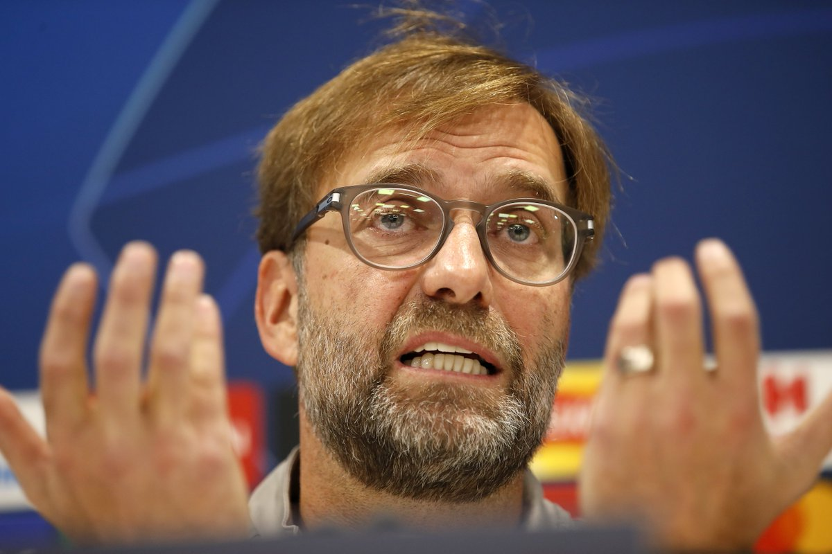 Sorry for killing that story. Jürgen Klopp ensures there is absolutely no chance Liverpool will make the fans dream signing - sqwk.at/KloppNoBuy