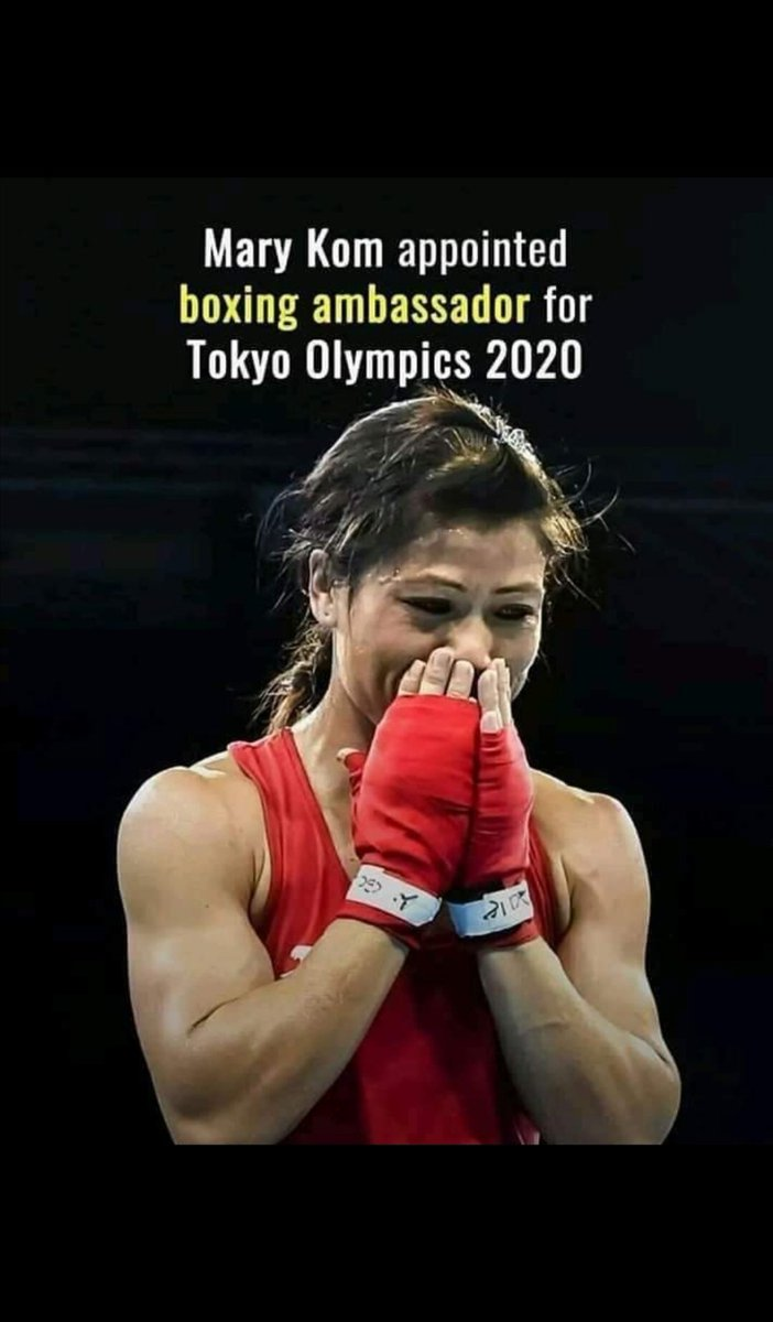A very deserving title for one of the best boxer in the world. You totally deserved it #marykom