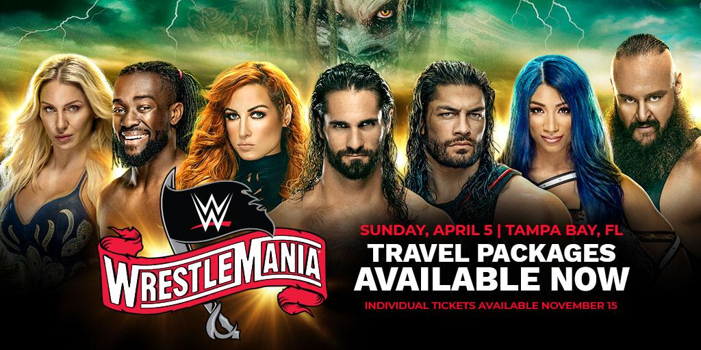 🚨LAST CHANCE! 🚨 Dont miss out on the the ultimate fan experience with your very own @WrestleMania Travel Package ! ⬇️Sale ends TOMORROW⬇️ travelpackages.wwe.com/event/wrestlem…