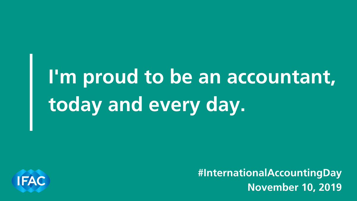 Were proud of the 3+ million accountants we support worldwide. Were wishing you all a happy #InterntionalAccountingDay ! 😊🎉🥳