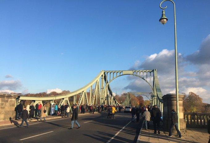 GlienickerBrücke - Agentenbrücke zwischen Berlin und L