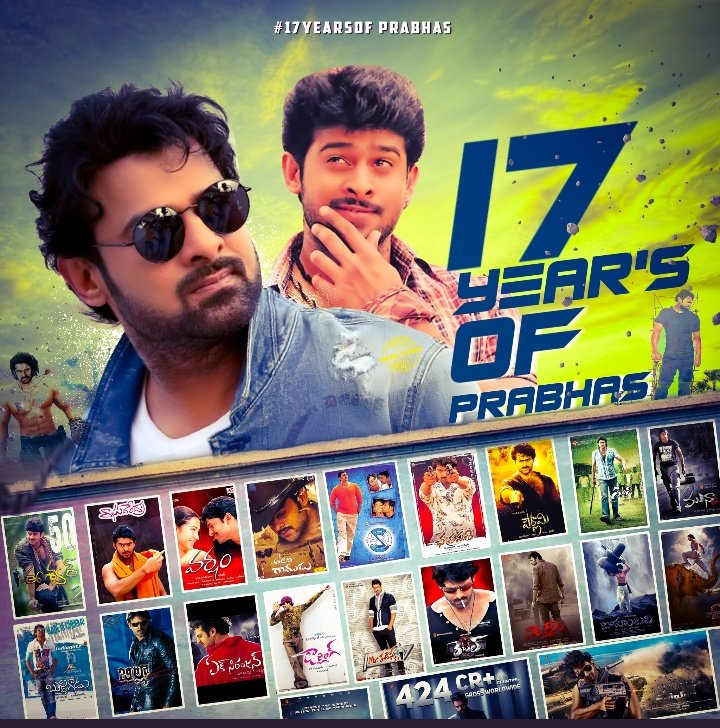 #17TriumphantYrsOfPrabhasEra From Eswar.. To Saaho.. My I'd EswarSaaho <br>http://pic.twitter.com/c5h6wr2IRC