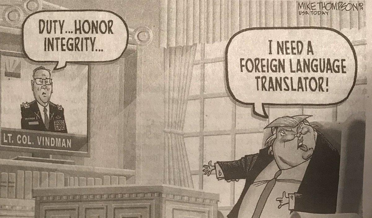 @realDonaldTrump Trump has no sense of Duty- Honor or Intergrity.