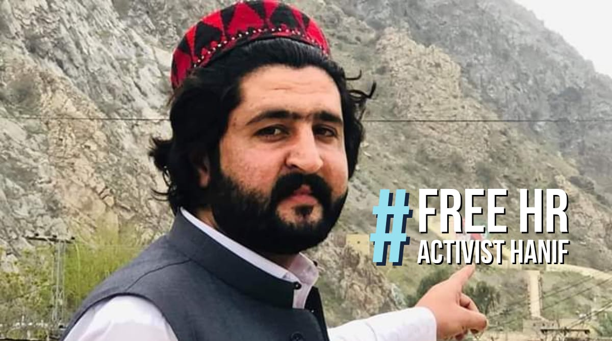 In Pakistan freedom of expression is a fundamental Right only in the Constitution . In actual practice no one have right of freedom of expression and that why hanif Pashteen is behind the bars illegally because he spoke for the rights of pashtun.  #FreeHRActivistHanif <br>http://pic.twitter.com/m5m82uzB9O