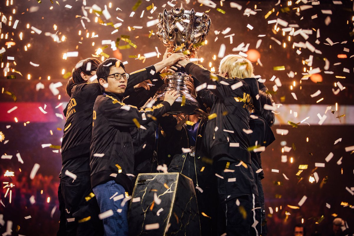 Congratulations to @FPX_esports who confirm the LPL's status as the dominant force in @LoLesports. Commiserations to our partners @G2esports who came so close to making history at #Worlds2019. We go again next season 💪 #FPXWIN #TogetherWeAdvance