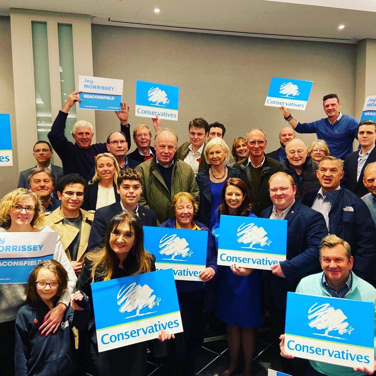 Truly honoured to have been selected by Conservative members in Beaconsfield as their Prospective Parliamentary candidate.