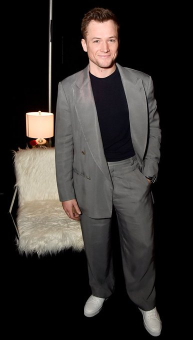 Happy birthday to ROCKETMAN Taron Egerton!