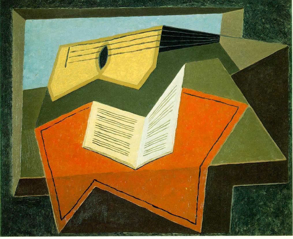 Guitar and Music Paper, 1927 #juangris #spanishart<br>http://pic.twitter.com/WrJ6EWlF4F