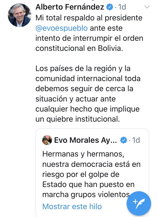 RECALCULANDO...  #BoliviaResiste  #EvoRenunciaYa  #FraudeEnBolivia  #FraudeConfirmadoBolivia @OEA_oficial<br>http://pic.twitter.com/nwj0WAUTf8