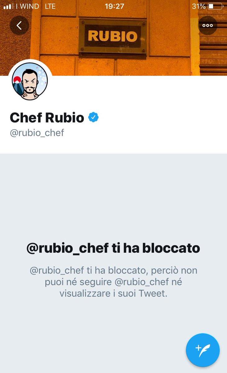#ChefRubio Sono disperato 😭 perché mi aveva bloccato solo perché della Lega (non me lo era mai cagato nè mai scritto),ora scopro che è stato licenziato. Ora avrà più tempo per insultare Salvini e andare in cerca dei leghisti x bloccarli. Ciaone Gabriè 🤣 #rubio #DiscoveryChannel