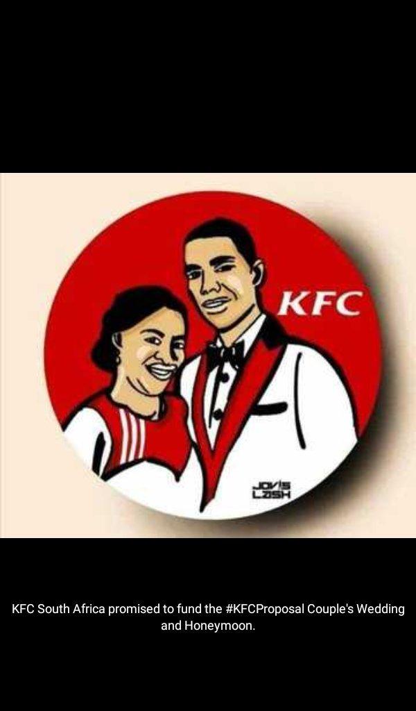 @KFCSA how true is this? 👇👇  #KFCcouple #KFCProposal #KFCProposalChallenge #KFCWEDDING  #OurPerfectWedding #KellyKhumalo #BLACKCOFFEE