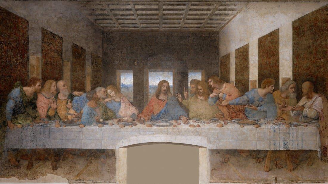 Leonardo da vinci's The Last Supper <br>http://pic.twitter.com/X8VfkMrigF