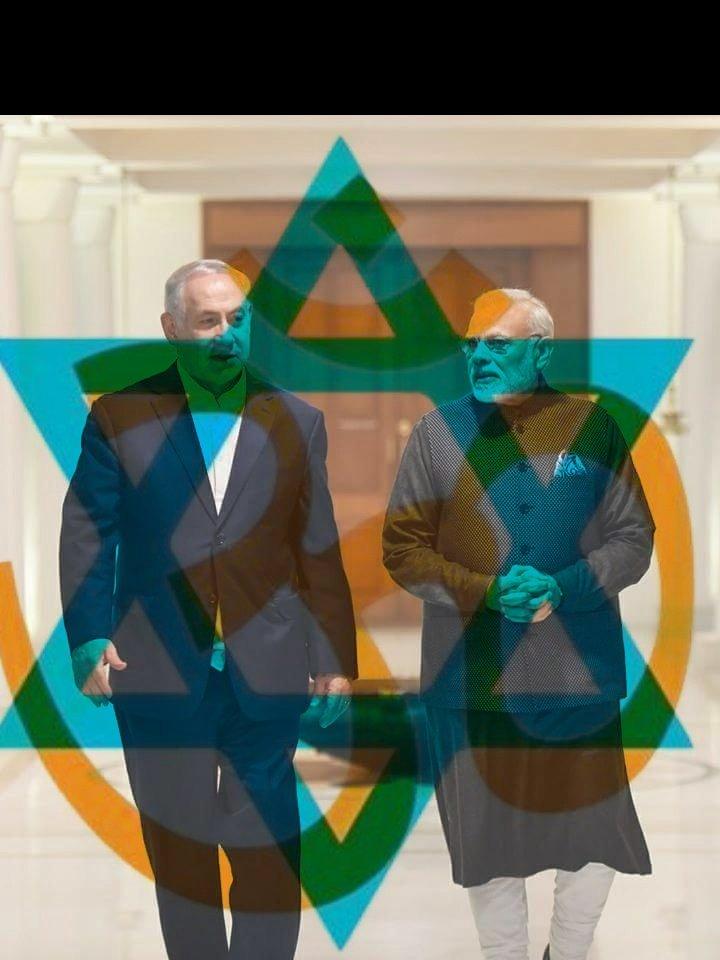 @TheMossadIL India love Israel 🇮🇳🇮🇱🇮🇳🇮🇱