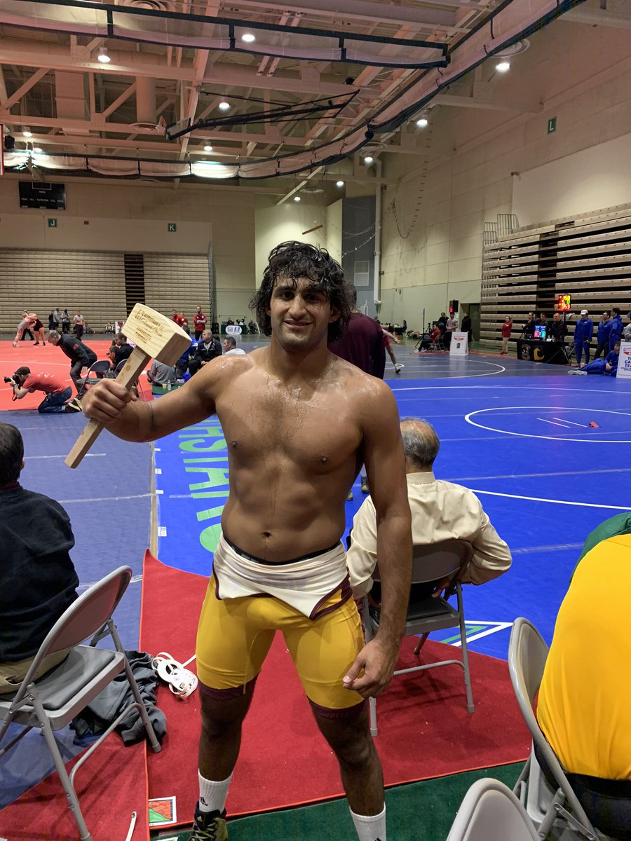 Anthony Valencia is your 174 pound Champion at the 2019 Journeymen Collegiate Classic 🔨