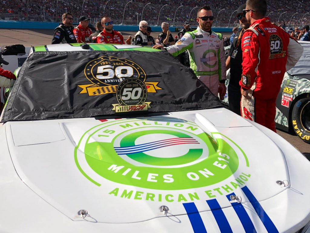 Almost time to jump in the car! @austindillon3 pre-race with his No. 3 @AmericanEthanol Chevrolet.