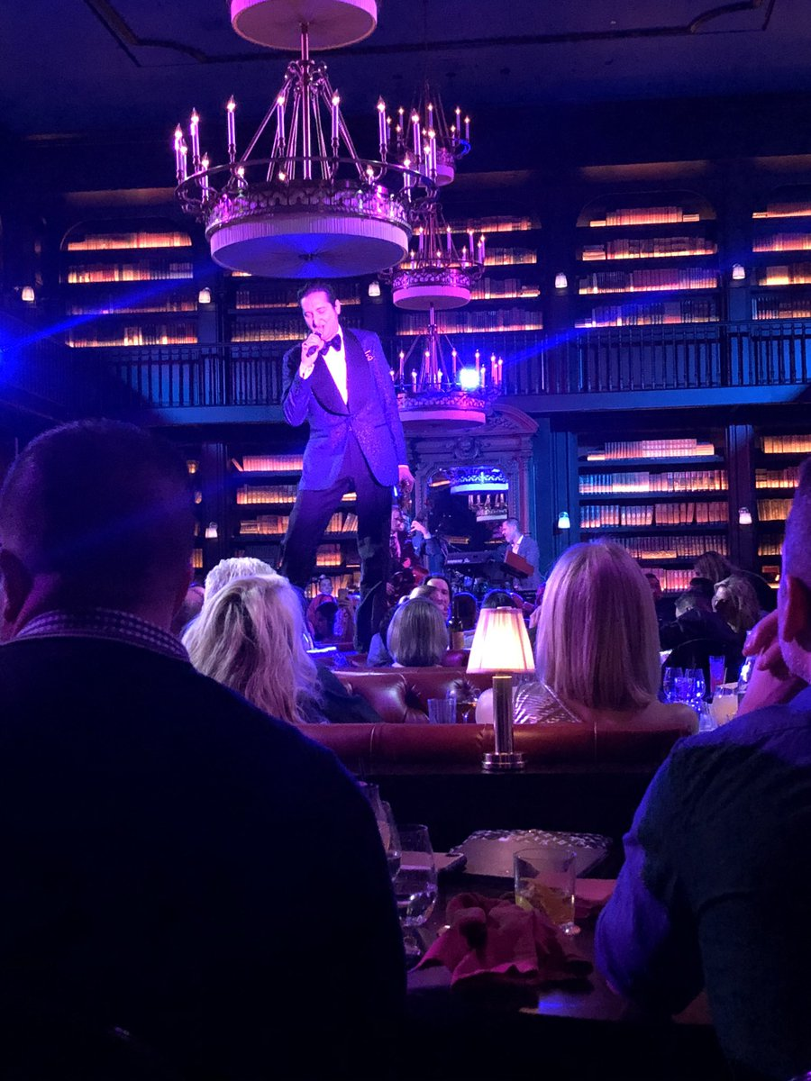 A gigantic THANK YOU to @johnnykats. His reporting clued us in to #BNAfterDark leading to one of the most amazing nights of music we've ever experienced. @BrianNewmanNY @parkmgm #WelcomeToTheShow – at Nomad Restaurant