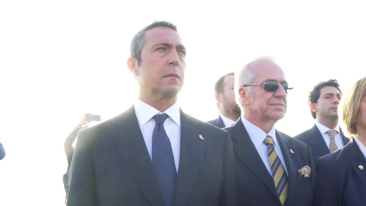 """Başkanımız Ali Koç: """"Fenerbahçe her gün Ata'sını yaşar, Ata'sının ilkelerine ve değerlerine sahip çıkar.""""  #GözlerindenEmanet  ▶ Videonun tamamını izlemek için👇  https://youtu.be/FihaPB1cj2A"""