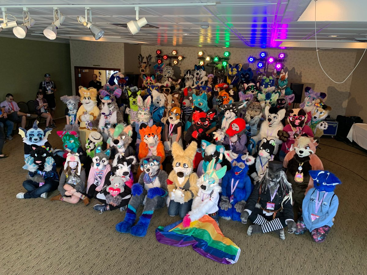 Group photo at #Spokanthro2019 !  These pics by @MikeBeagen<br>http://pic.twitter.com/32TIThNtIM