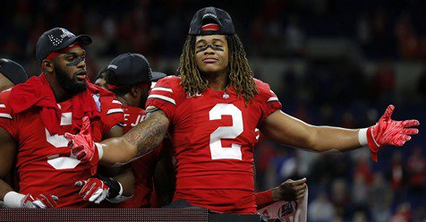 Report: Ohio State Buckeyes defender Chase Young is only facing a maximum suspension of two games from NCAA  https:// 247sports.com/college/ohio-s tate/Article/Chase-Young-suspension-update-Ohio-State-NCAA--138375198/  … <br>http://pic.twitter.com/7EkX4UA70Z