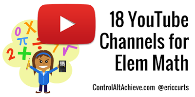 RT <a target='_blank' href='http://twitter.com/ericcurts'>@ericcurts</a>: 18 YouTube Channels for Elementary Math <a target='_blank' href='https://t.co/NQqy29WfL2'>https://t.co/NQqy29WfL2</a> <a target='_blank' href='http://search.twitter.com/search?q=edtech'><a target='_blank' href='https://twitter.com/hashtag/edtech?src=hash'>#edtech</a></a> <a target='_blank' href='https://t.co/N0s6wAVVof'>https://t.co/N0s6wAVVof</a>