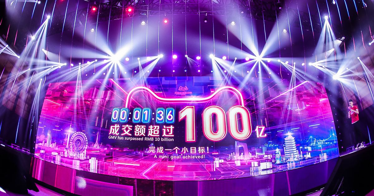 Alibaba Singles Day kicked off with Taylor Swift and a huge, new sales record - Top Tweets Photo