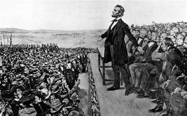On this day in 1863, Abraham Lincoln delivers his famous Gettysburg Address. The presidents critics initially dismiss the 90-second speech as ludicrous and silly. It will later be held up as the most brilliant piece of oratory in U.S. history. #OTD