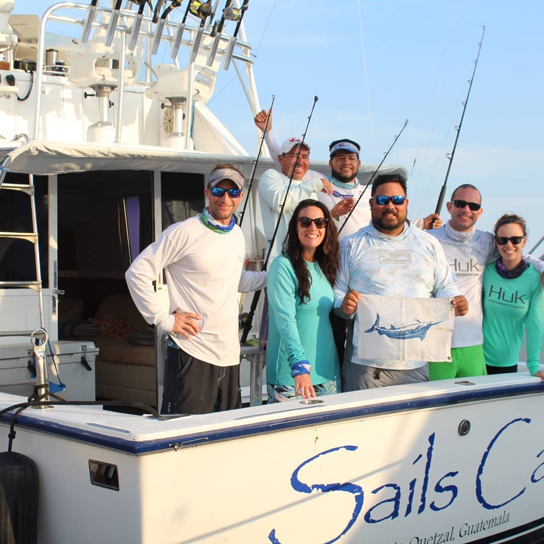 Guatemala - Sails Call went 27-35 on Sailfish and 1-1 on Blue Marlin.