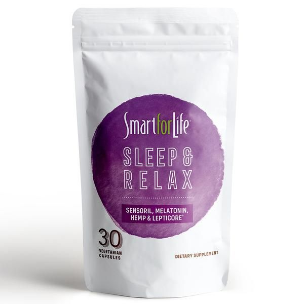 Smart for Life's Sleep & Relax Natural Sleep Aid Supplement uses a powerful blend of natural ingredients to help you fall asleep, stay asleep, and have a full night's rest that will leave you feeling relaxed and energized when you wake up. 💤 Shop Now - https://t.co/A72jIds43g https://t.co/aOWX6vYznW