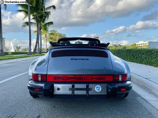 1985 Turbo bodied 911 3.2 Carrera Cab for sale. Looks in fair shape ....    https://www. thesamba.com/vw/classifieds /detail.php?id=2328063  … <br>http://pic.twitter.com/PRiz2LIsZE