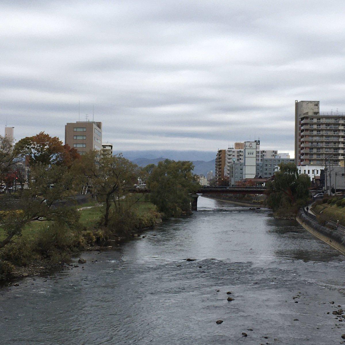 2019/11/11 盛岡市の開運橋から撮影。きょうで東日本大震災から8年8カ月。みなさま、体調管理に気をつけてお過ごしください。 #岩手 #盛岡 #北上川 #岩手においでよ