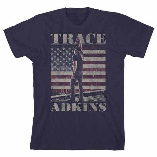 TODAY ONLY: In honor of Veterans Day take an additional 20% off all American flag merchandise in the Trace Adkins store. Enter the code THANKYOU at checkout: tadkins.co/VetsDaySale