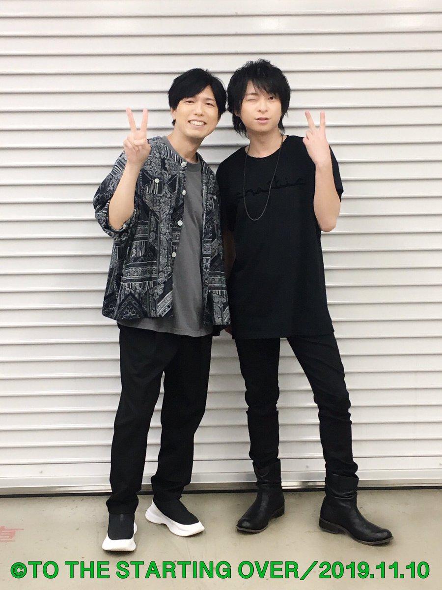 """遅くなりました!一昨日、昨日と舞浜アンフィシアターにて開催した柿原徹也さんのLIVE TOUR 2019 """"TO THE STARTING OVER""""両日共に無事終了致しました。ご来場頂いた皆様ありがとうございました! #Kiramune"""