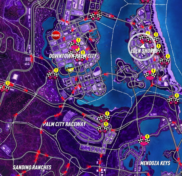 need for speed heat map key