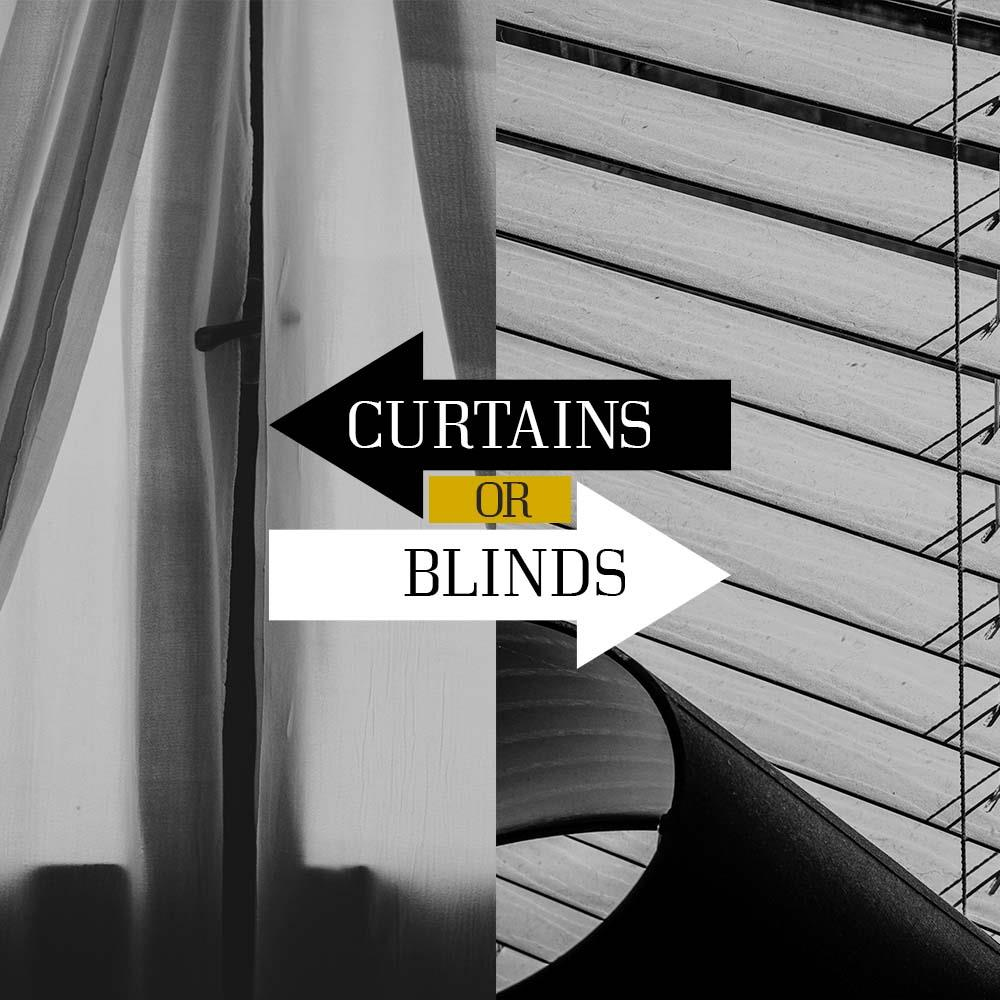 Curtains and blinds offer privacy and block out the harsh rays from the sun. Which do you prefer? I am proud to serve!!!