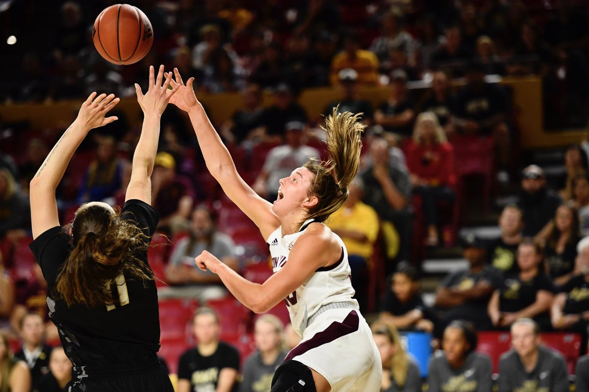 DOMINATING IN THE PAINT 🎨 Sun Devils outscoring Army inside 28-14 😈