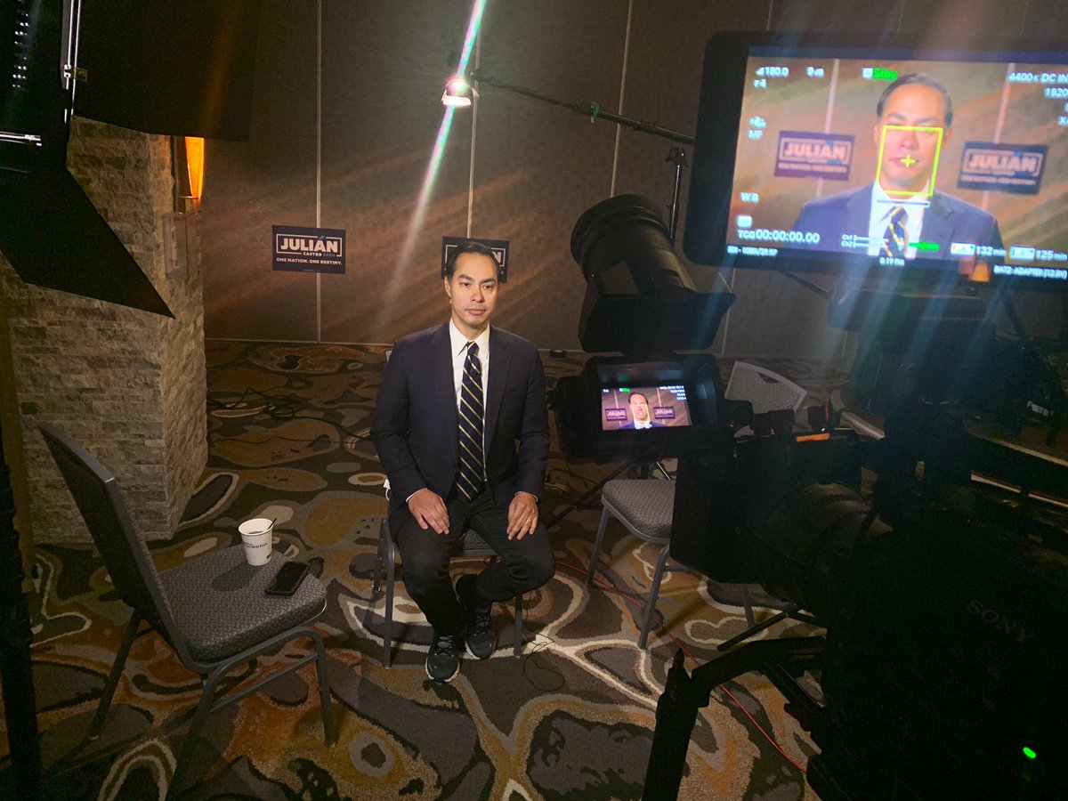 NOW: @JulianCastro joins @AymanM on @KasieDC. Tune in!