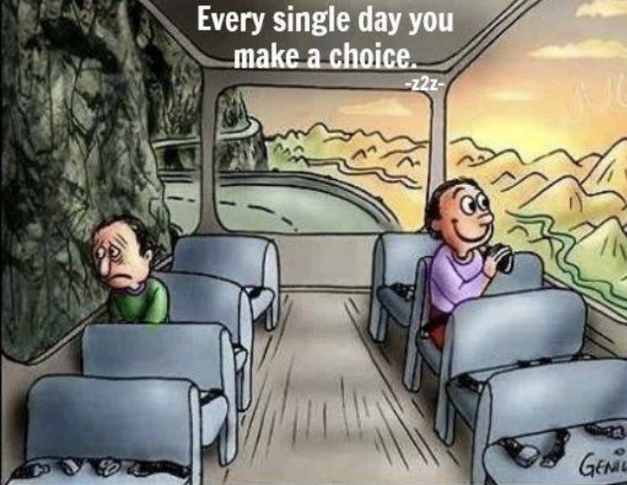 Which window are you looking out of? All about perspective...let's have a great week! #foxc6strong