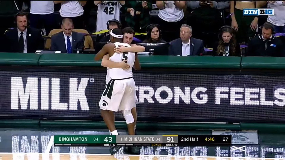 Michigan State star Cassius Winston shines in game a day after brother's death