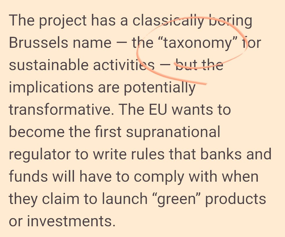 How could Brussels name a policy thats so closely linked with its potential for political legitimacy among a new generation of #climate activists a freaking taxonomy? h/t @MehreenKhn