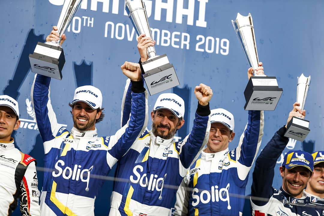 Moments of our 1st Win of the Season 👊🏼🏆 #WEC #4hShanghai 🇨🇳 Let's go for more!!! @JotaSport 🇬🇧   Momentos de nuestro 1er Triunfo de la temporada. 🇲🇽 Vamos X Mas!!! @afelixdacosta 🇵🇹 @antdavidson 🇬🇧 #JotaSport38 #TeamWork #DrivenSMTeam #DriveLikeMarks